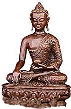 KKUUNXU Statua di Buddha in Rame Puro di Sakyamuni