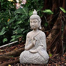 KKUUNXU Statua di Buddha Zen Sakyamuni Statua da