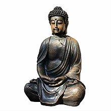 KKUUNXU Sud-EST Asiatico Resina Testa di Buddha