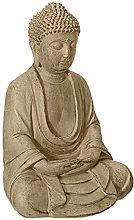 KKUUNXU Vintage Seduto Statua di Buddha Gesto