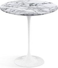 Knoll Saarinen Tavolino Ø 51 - Marmo Arabescato