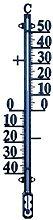 Koch 67242 - Termometro Esterno in Metallo