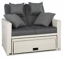 Komfortzone Divano Lounge in Rattan Sintetico Due
