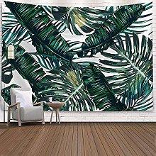 KONTOSC Arazzo da parete con pianta tropicale,