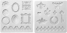 KOUJING - Stampo in silicone per decorazioni per