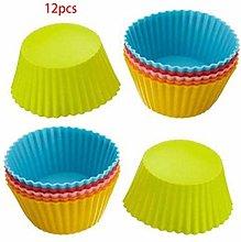 KOUJING - Stampo rotondo in silicone, per muffin,