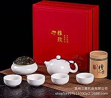 Ksnrang Set da tè da Viaggio Tazza da tè Set di