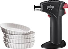 Küchenprofi Trendline Set Creme Brulee Nero