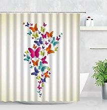 KUNLHF Tenda da docciaTende da Doccia a Farfalla