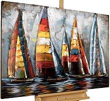 KunstLoft Stravagante Metallo Relief 3D Sailing to