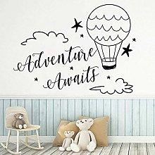 L'avventura attende Adesivo murale Nursery