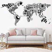 L'Ultimo Modello Creativo Mappa Del Mondo