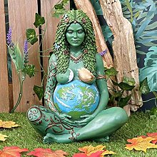 L-ELEGANT Madre Terra Gaia Statua,Madre Terra