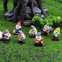 L-ELEGANT Miniatura Statua di Gnomo da