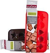 La Cucina - Stampo 10 cioccolatini in Silicone