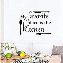 La mia cucina preferita Cucina mamma Adesivo