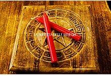 La Soffitta delle Streghe Candela Rituale Rosso