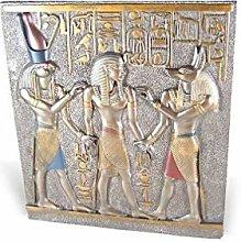 lachineuse Busto Egiziano. Horus e Anubi