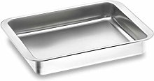 Lacor 62530- Teglia inox 18/10 de 30x21