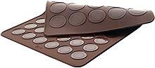 LACOR 66753 Stampo per Macaron, in Silicone,
