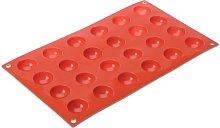 LACOR 66800- Stampo Silicone semisfera 24 cavità