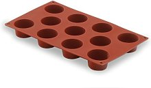 LACOR 66804- Stampo Silicone Mini-Muffin 11 cavità