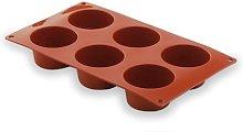 LACOR 66805- Stampo Silicone Muffin 6 cavità