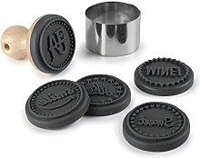Lacor 68099 - Stampo per biscotti, colore: Nero