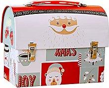 Laimoere - Scatola di latta natalizia per