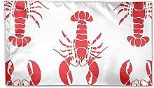 LAKILAN Design di Aragosta Bandiera della