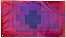 LAKILAN Flamingo Artwork Design Bandiera della