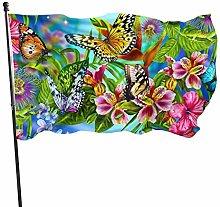 LAKILAN Rose Designs Bandiera della