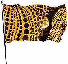 LAKILAN Zucca Gialla Design Bandiera della