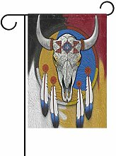 Lakota Piccola bandiera da giardino verticale su