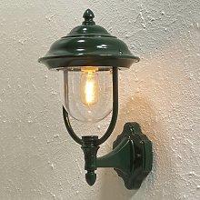 Lampada a muro da esterno Parma a stelo, verde
