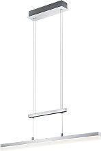 Lampada a sospensione allungata alluminio LED -