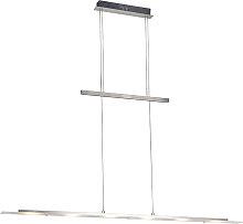 Lampada a sospensione di design in acciaio con LED