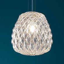 Lampada a sospensione di design Pinecone in vetro
