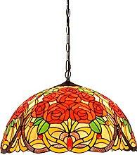 Lampada a Sospensione in Stile Tiffany, Lampade a