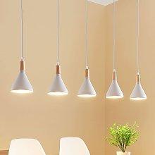 Lampada a sospensione LED Arina a 5 luci