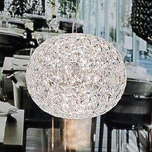 Lampada a sospensione LED Planet, trasparente