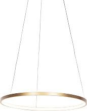 Lampada a sospensione oro 60cm LED - ANELLA