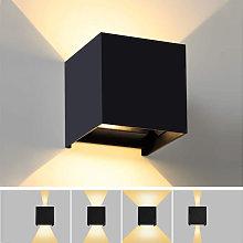 Lampada applique LED 12W da parete per esterni e