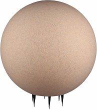 Lampada da esterno design plug-in palla sabbia
