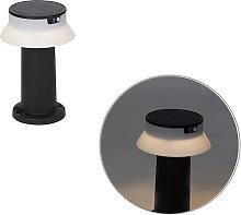 Lampada da esterno nera con LED e dimmer IP55