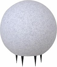Lampada da giardino design plug-in in pietra di