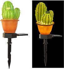 Lampada da giardino solare per esterni, cactus