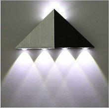 Lampada da parete a LED da 5W Lampada a triangolo