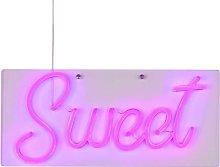 Lampada da Parete al Neon Sweet Viola - Viola -