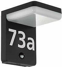 Lampada da parete per esterni a LED rilevatore di